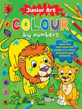Junior Art Colour By Numbers: Lion