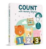 Count with Nursery Rhymes Sound Book (6 songs with lyrics)