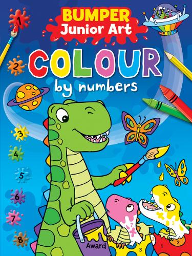 Junior Art Bumper Colour By Numbers