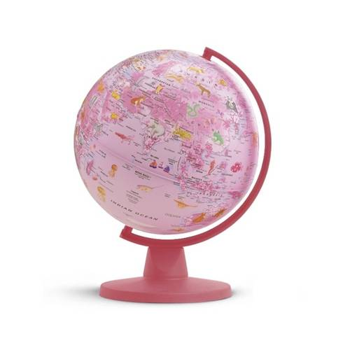 Insight Guides Globe Pink Animal