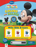 Mickey Mouse Clubhouse - Colors and Shapes: Write, Slide and Learn Series