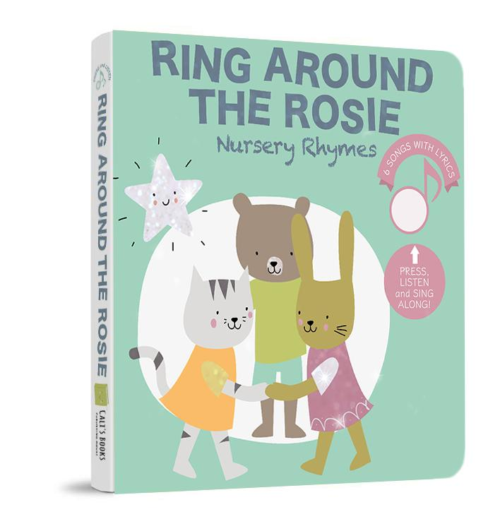 Ring Around the Rosie Nursery Rhymes Sound Book (6 songs with lyrics)