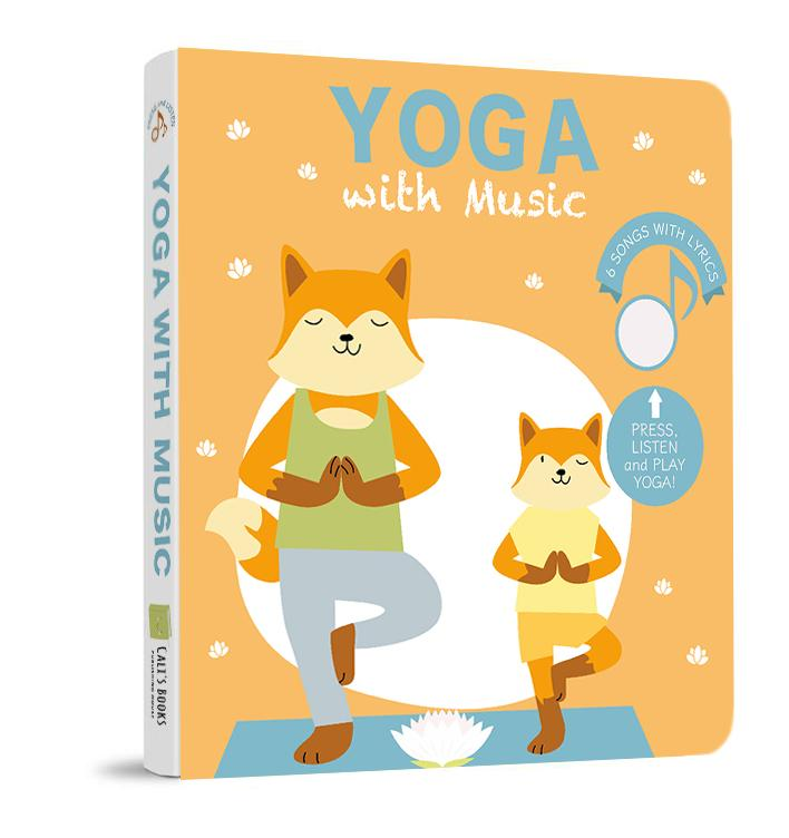Yoga with Music Sound Book (6 songs with lyrics)