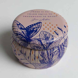 Jane Austen: Tenderness of Heart Scented Tin Candle (3oz)