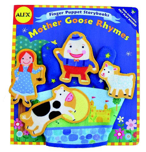Alex Toys: Finger Puppet Storybook: Mother Goose Rhymes