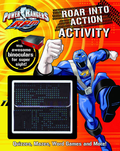 "Disney Puzzle and Game Activity: ""Power Rangers"""