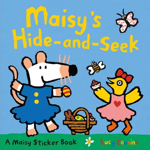 Maisy's Hide-and-Seek Sticker Book