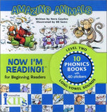 Now I'm Reading! Level 2: Amazing Animals