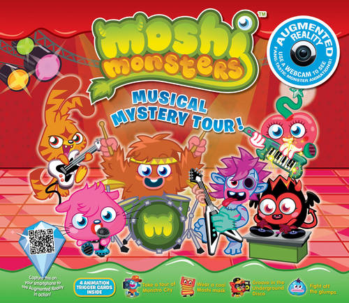 Moshi Monsters Musical Mystery Tour: An Augmented Reality Book