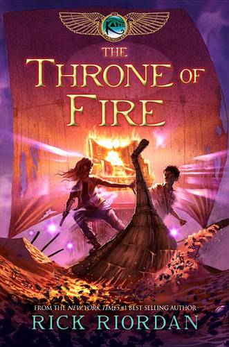 The Kane Chronicles - Book 2 the Throne of Fire