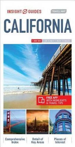 Insight Guides Travel Map California