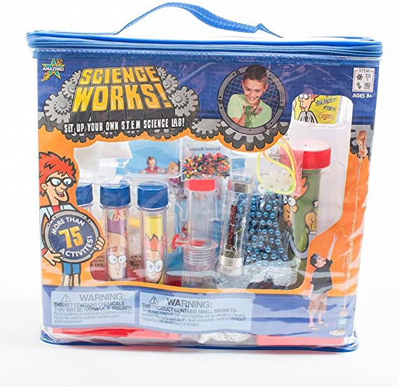 Science Works - Science Kits by Be Amazing (4145)