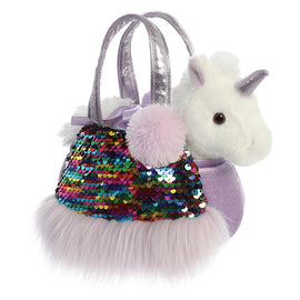 Aurora Fancy Pals Shimmer Plushie Rainbow Unicorn