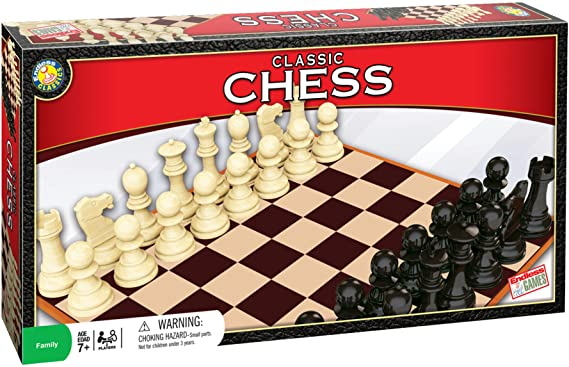 Classic Chess Set - For Ages 7 Years and Up