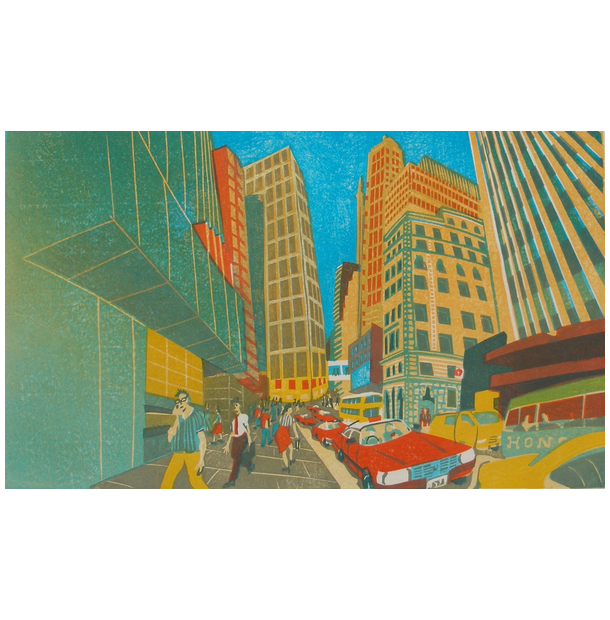 Pedder Street Greeting Card