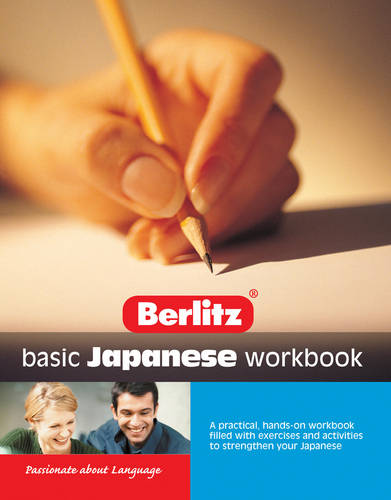 Basic Japanese Berlitz Workbook
