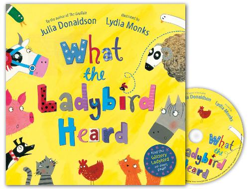 What the Ladybird Heard Book and CD Pack