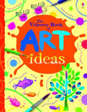 The Usborne Book of Art Ideas Spiral Bound
