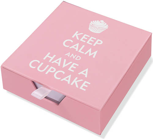 Desk Notes Keep Calm/Cupcake