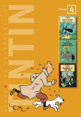 Adventures of Tintin 3 Complete Adventures in 1 Volume: Red Rackham's Treasure: WITH The Seven Crystal Balls AND Prisoners of the Sun