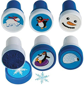 Christmas Winter Fun Stamper (Pack of 6)