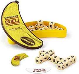 Bananagrams Duel: Ultimate 2 Player Travel Game | Small Space Word Race