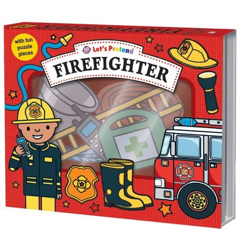 Let's Pretend: Firefighter Set: With Fun Puzzle Pieces