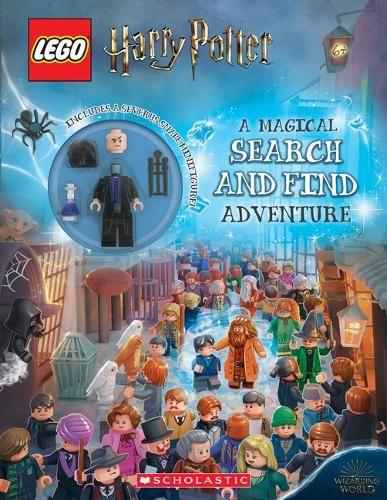 Lego Harry Potter: A Magical Search and Find Adventure (Activity Book with Snape Minifigure)