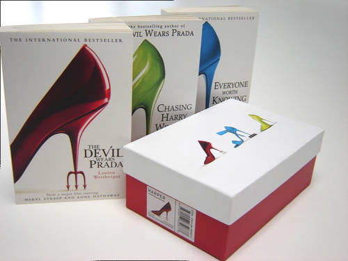 Weisberger Shoe Box: Devil Wears Prada WITH Everyone Worth Knowing AND Chasing Harry Winston