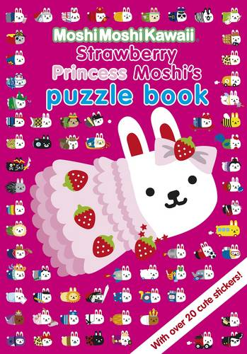 MoshiMoshiKawaii: Strawberry Princess Moshi's Puzzle Book