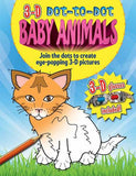3-d Dot-to-dot: Baby Animals: Join the Dots to Create Eye-popping 3-D Pictures