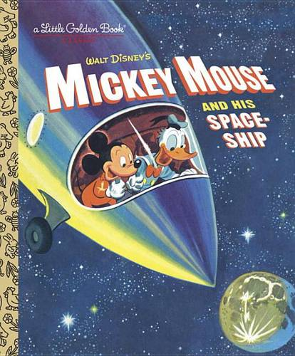 Mickey Mouse and His Spaceship