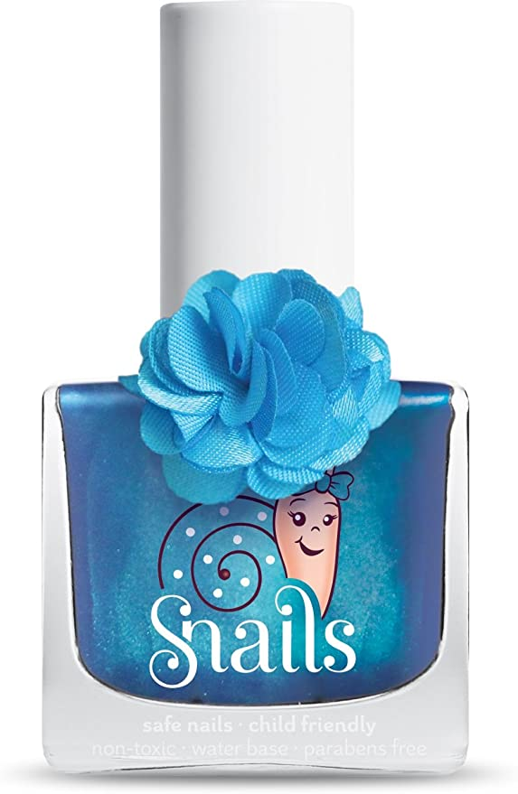 Snails 100% Non-Toxic, Water-Based, ODORLESS Nail Polish for Kids 10.5ml (Lily)