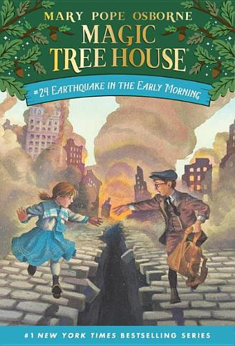Magic Tree House 24 Earthquake In The Early Morning