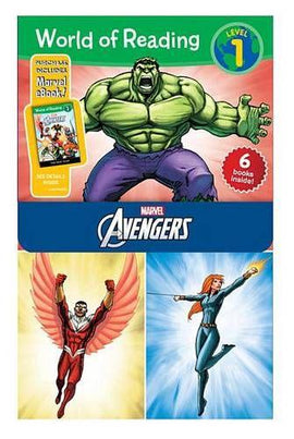 World of Reading Avengers Boxed Set: Level 1