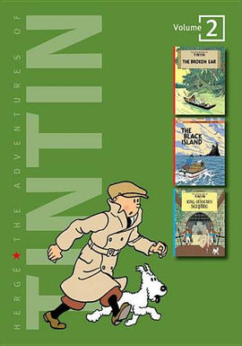 Adventures of Tintin 3 Complete Adventures in 1 Volume: Broken Ear: WITH The Black Island AND King Ottokar's Sceptre