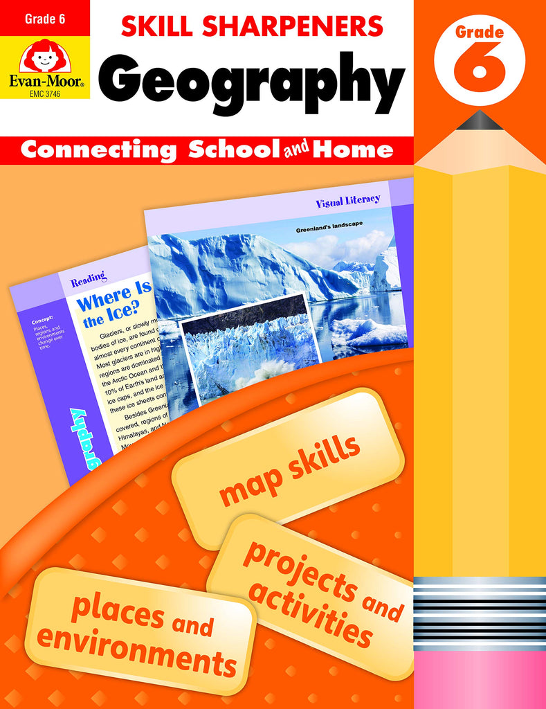 Skill Sharpeners Geography, Grade 6