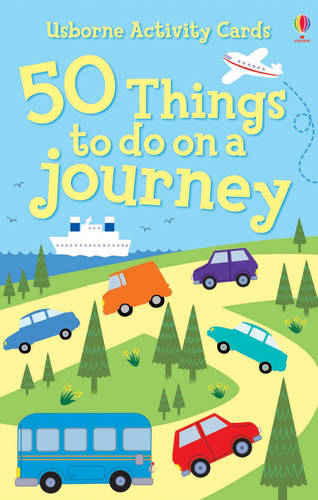 50 Things To Do On A Journey Activity Cards