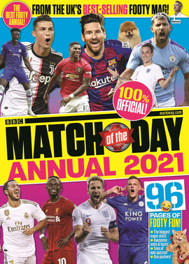 Match of the Day Annual 2021 : (Annuals 2021)