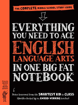Everything You Need to Ace English Language Arts in One Big Fat Notebook - US Edition