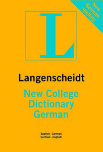 German Langenscheidt New College Dictionary