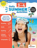 Daily Summer Activities: Moving from 3rd Grade to 4th Grade, Grades 3-4 (Student)