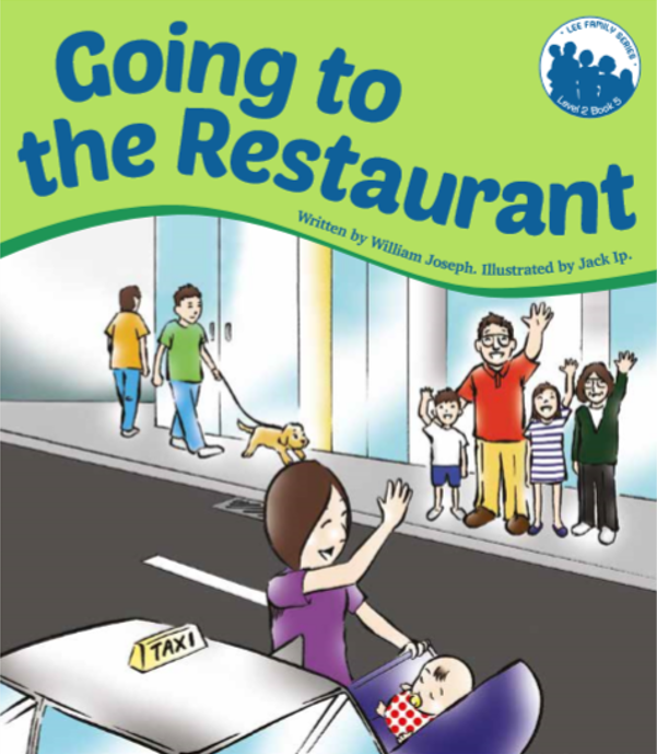 Going to the Restaurant - Level 2, Book 5