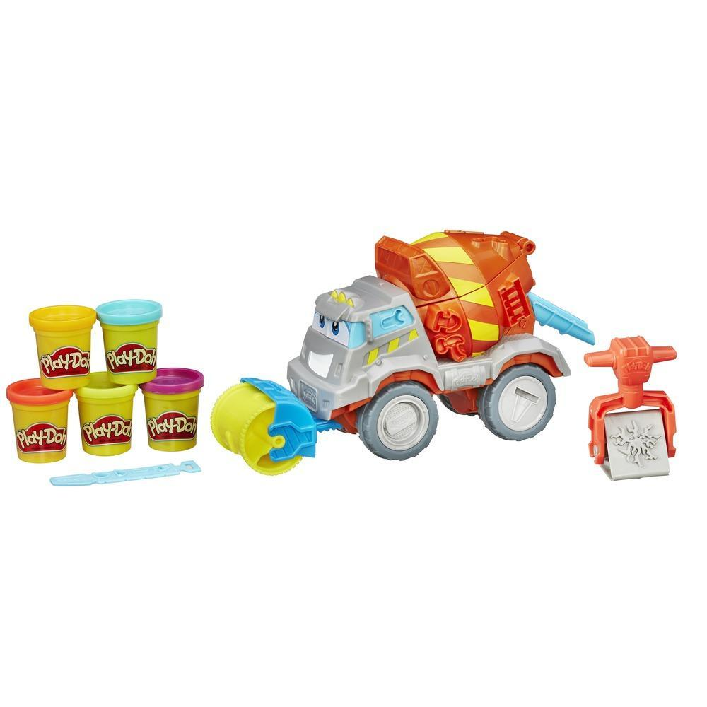 Play-Doh Cement Mixer