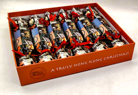 Hong Kong Themed Christmas Crackers