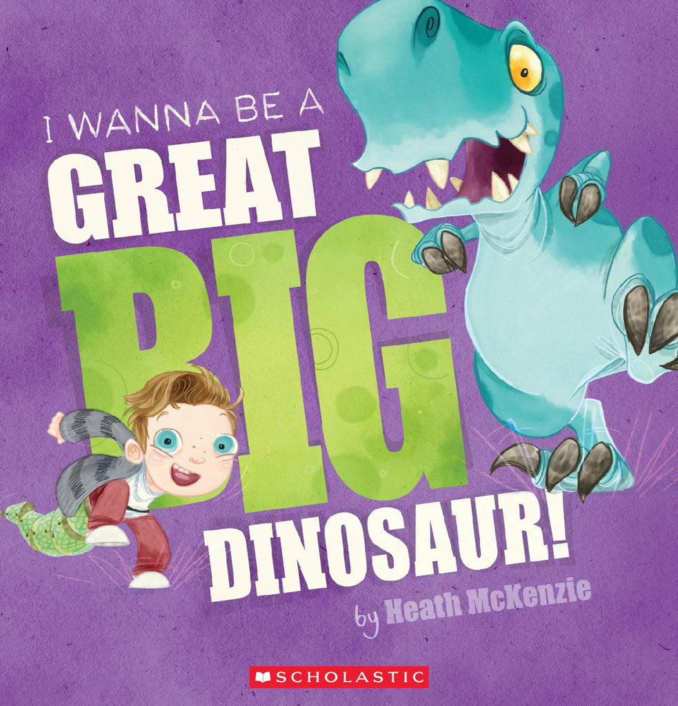 I Wanna Be A Great Big Dinosaur (With Cd)