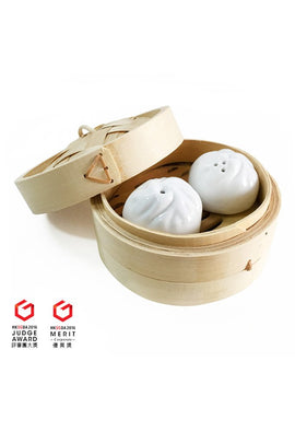 Dumpling Salt and Pepper Shaker