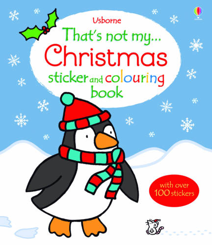That's Not My Christmas Sticker and Colouring Book