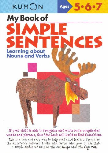 My Book of Simple Sentences: Nouns and Verbs