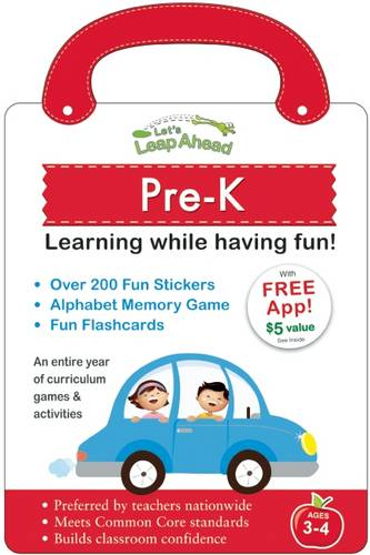 Let's Leap Ahead: Pre-K Learning While Having Fun!: Pre-K Learning While Having Fun!